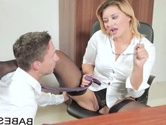 Babes - Office Obsession - Lutro and Anna Polina - My Horrib