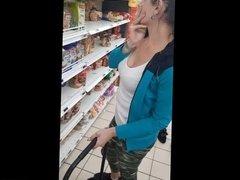 big boobs portugese milf shoping