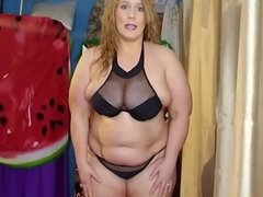 Ursula Sward mature white bbw