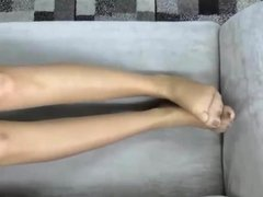 Lady Alexa  from Russia show me her beautiful legs