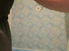 Cumshot in my hot coworker's bathroom.