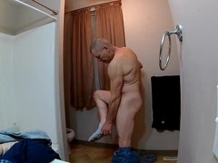 Mike Muters 4k shower dildo ass fucking