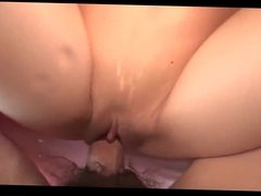 Amateur - Japanese HardNip Babe Huge Squirting Creampie POV