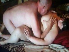 Love Sucking on Her Big 44h Tits
