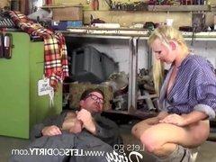 Extrem Sex in der Werkstatt