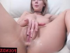 Pretty Good Blonde Teen playing her sweet hole - Dating & fuck this girls a