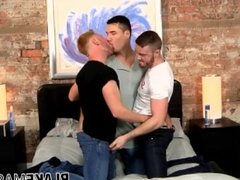 Twinks throw a threesome that drills all the right assholes