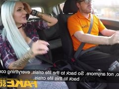 Fake Driving School Anal and sexy toys lesson finale