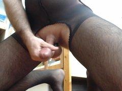 Cum in bodystockings 2