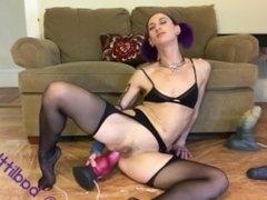 Huge anal creampies - full vid at badlittlegrrl.com