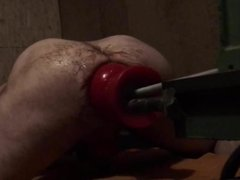 Full Buttplug insertion Fickmachine