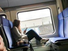 IN THE TRAIN