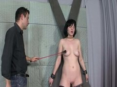Punishment for a naughty slut