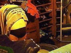 Voyeur Spr Cam of Wife Dressing