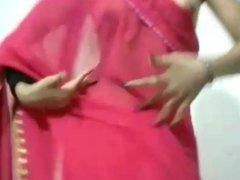 Indian Webcam Girl Shows Boobs