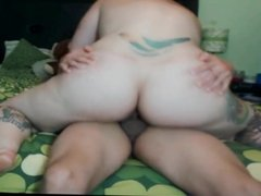 dahlia dee rides until he explodes inside her