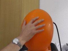latex mask rubber