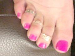 undressing my pretty feet