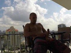 Sean Lawless Wanking His Massive Cock