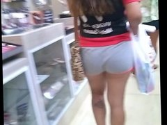 de shortinho fininho rebolando (big ass in shorts teen) 125