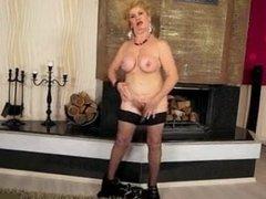 Granny Effie solo on floor