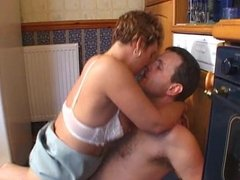 british wife fucked in kitchen