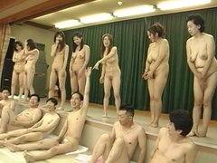 Japanese Milfs crazy piss party