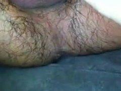 Small wet penis handjob