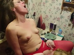 Wife eats her friend.