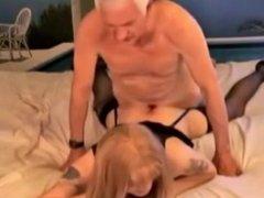 Old Man Fucks Young Tranny April
