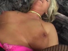 Gorgeous GILF is Getting Slammed and Facialized