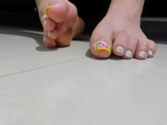 Pretty Toes Up Close