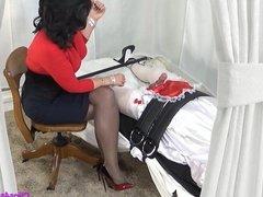 Mistress Handjob For Sissy