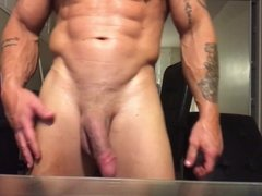 Damien's Big Cock and Muscles