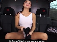 BUMS BUS - Hardcore 69 and cum in mouth for Daphne Klyde