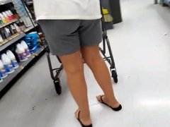 Upshorts milf and bbw little blk shorts