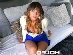 HOLED Round brown booty STUFFED with big dick