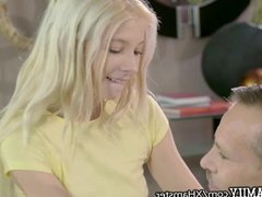 Small Teen Kenzie Reeves Orgasms 4 Step Daddy & Mom WATCHES!
