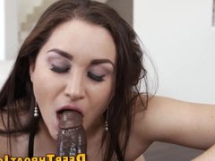 Fetish babe throats bbc