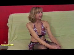 Nadine 55 years old mature woman who loves interracial sex