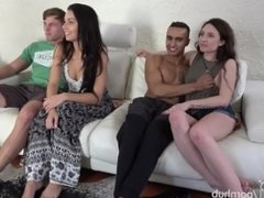 She Cums 7 TIMES! To her first HUGE COCK.