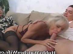 Mature Shows Young Guy How To Fuck