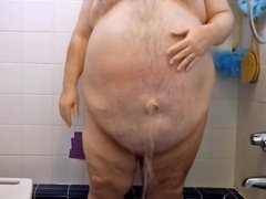 Fat Guy in the Shower #10