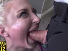 Leyla Falcon gets her ass fucked by a cock and vegetables