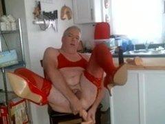 Faggot in Red