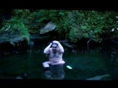 Public Nudity : Having a Bath in a Lake!!