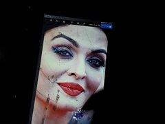 Aishwarya Moaning Spit & Cum Tribute 2