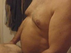 Old man fucking younger ass bareback