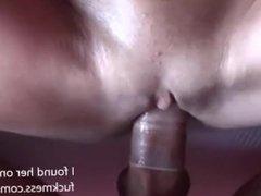 MILF removes condom, I cum on her mouth (POV)