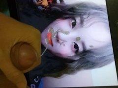 (G)I-DLE Yuqi cum tribute